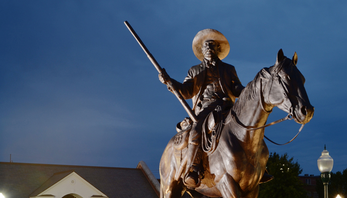 Bass Reeves Statue Fort Smith ACH 081412 9768