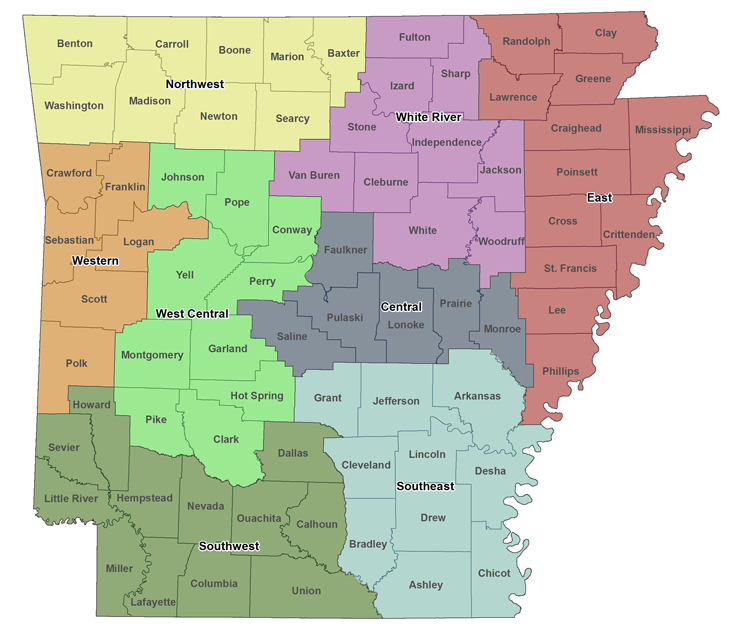 PDD Counties